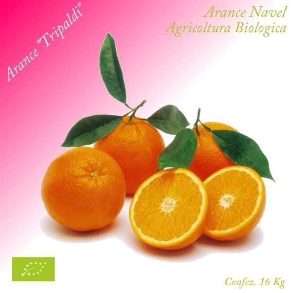 Arance Navel Biologiche «Tripaldi»