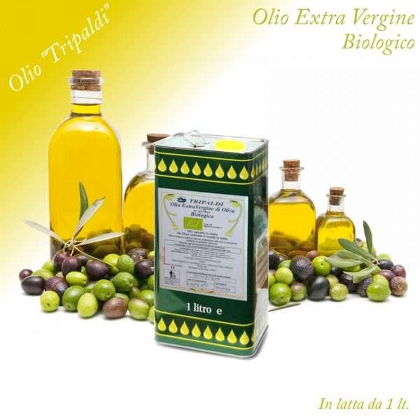Olio Evo ExtraVergine di Oliva Biologico «Tripaldi» 1 Lt