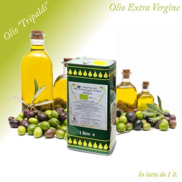 Olio Evo Extra Vergine di Oliva «Tripaldi» 1 Lt